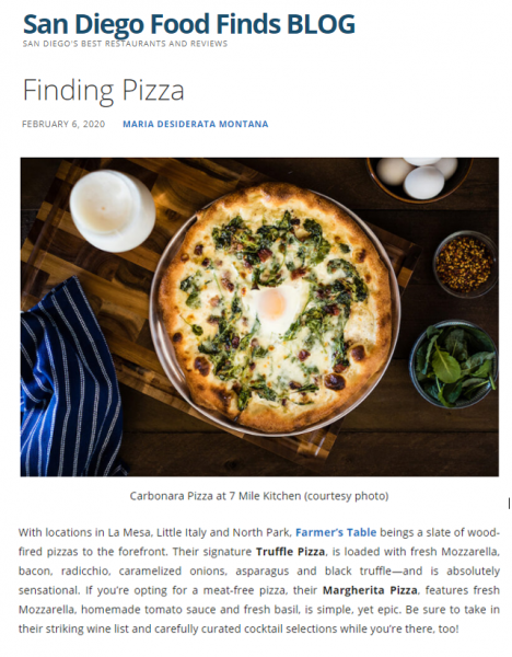 San Diego Food Finds Feature